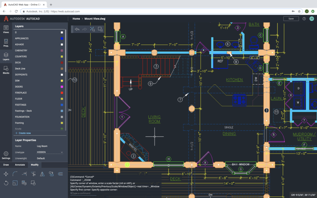 Hindsight Is 20/20 and this is AutoCAD 2020 autocad 2020 web app